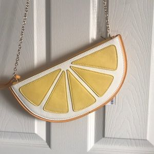 Handbags - Lemon crossbody/ envelop clutch